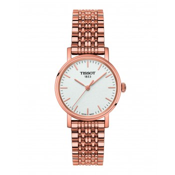 Tissot Everytime Small Rose-Plated Women's Watch