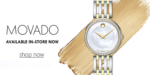 Movado In-Store Now - Shop Now
